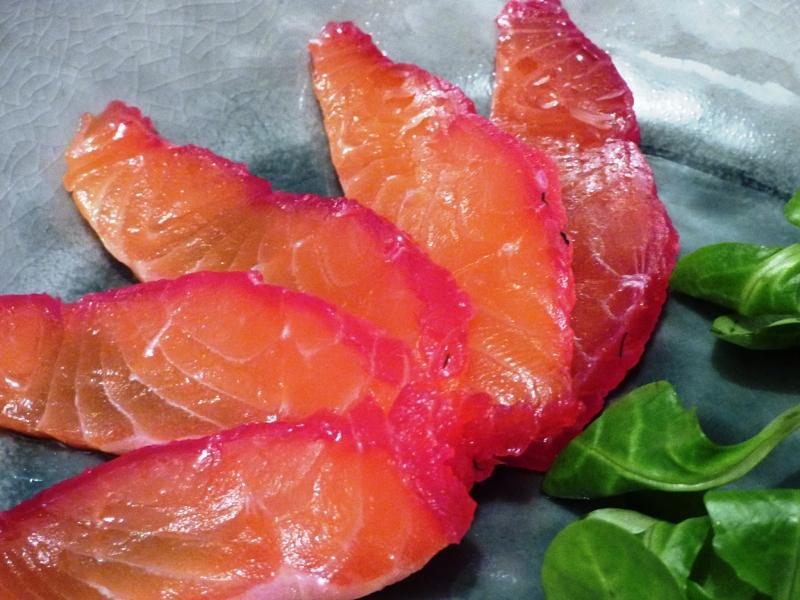 Gravlax de saumon poivre zeste - Saumon gravlax rapide ...